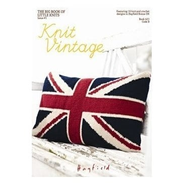 The Big Book Of Little Knits - Knit Vintage By Hayfield 1