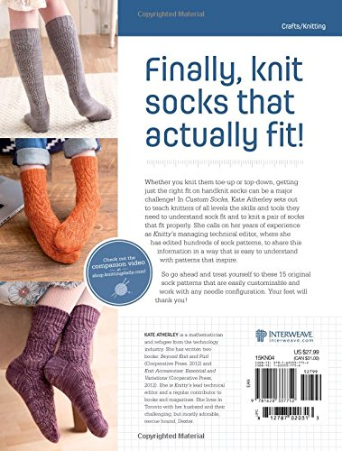 Custom Socks - Knit To Fit Your Feet By Kate Atherley 2
