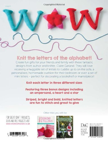 Knit The Alphabet By Claire Garland 2