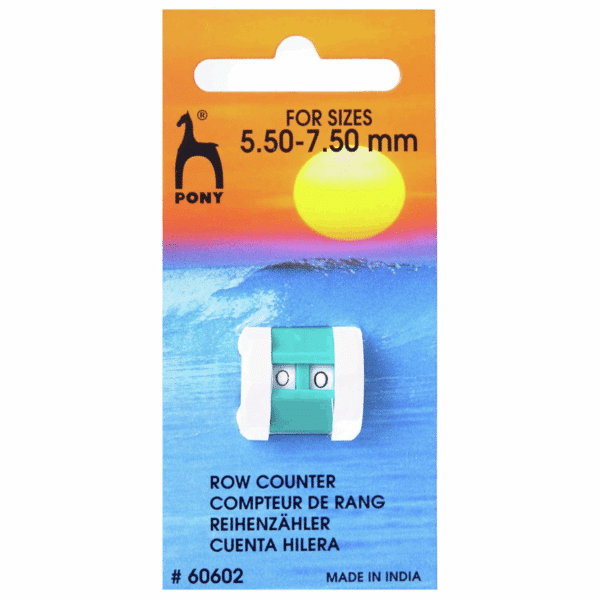 Pony - Row Counter - 5.50mm - 7.50mm (large) 1