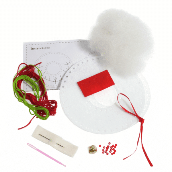 Trimits - Make Your Own Felt Decoration Kit - Wreath 2