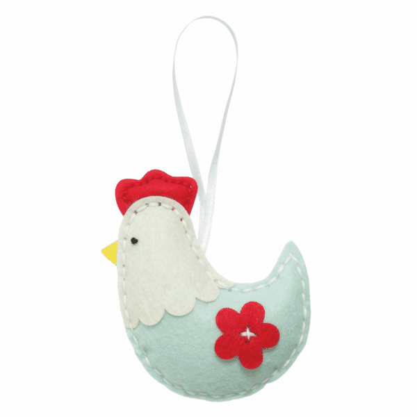 Trimits - Make Your Own Felt Decoration Kit - Hen 3