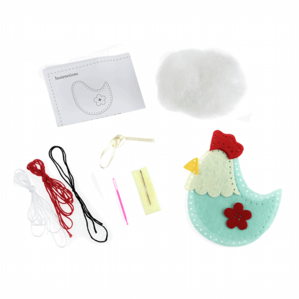 Trimits - Make Your Own Felt Decoration Kit - Hen 2