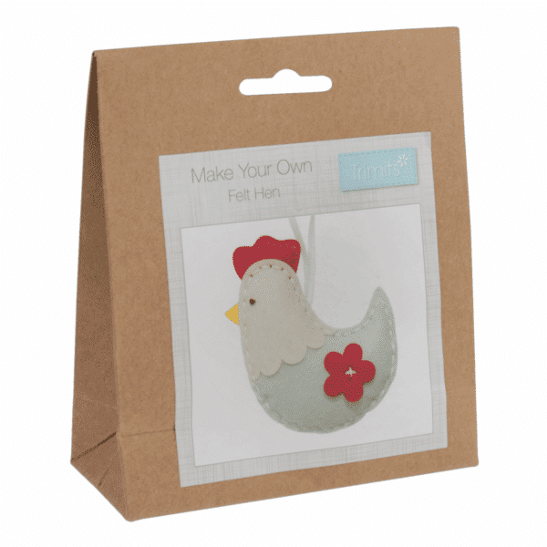 Trimits - Make Your Own Felt Decoration Kit - Hen 1