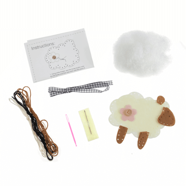 Trimits - Make Your Own Felt Decoration Kit - Sheep 2