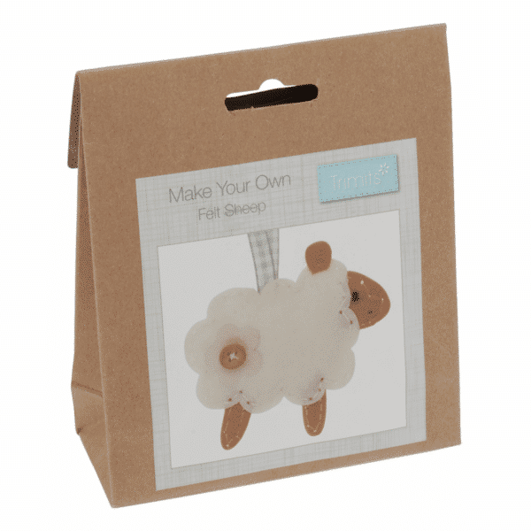 Trimits - Make Your Own Felt Decoration Kit - Sheep 1