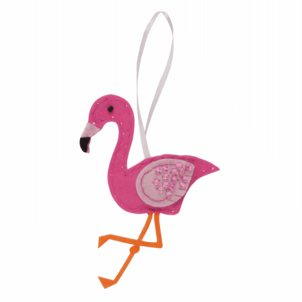 Trimits - Make Your Own Felt Decoration Kit - Flamingo 3