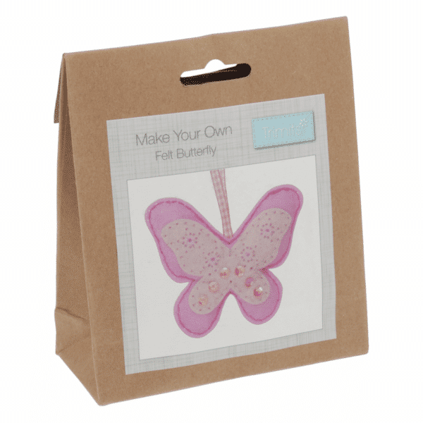 Trimits - Make Your Own Felt Decoration Kit - Butterfly 1