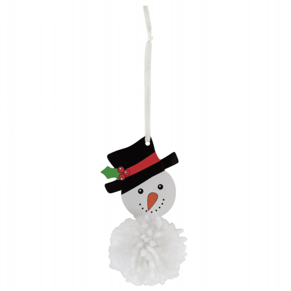 Trimits - Pom Pom Kit - Snowman 3