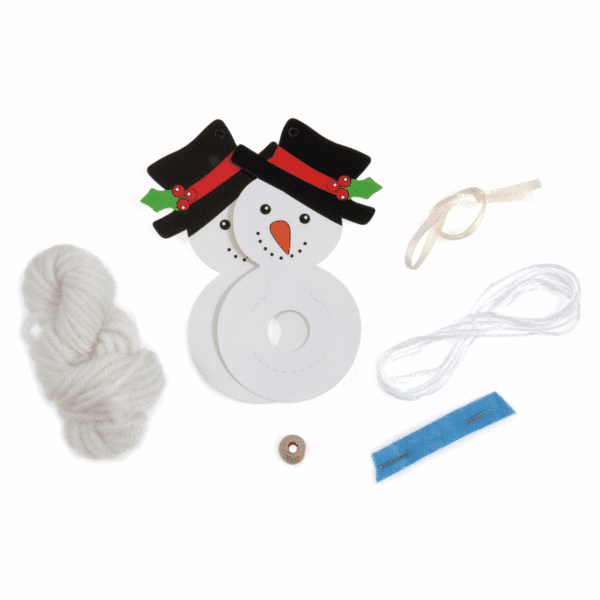 Trimits - Pom Pom Kit - Snowman 2