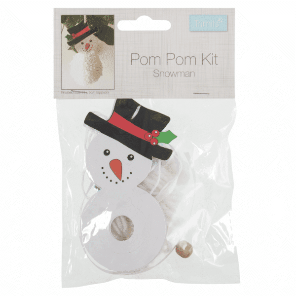 Trimits - Pom Pom Kit - Snowman 1