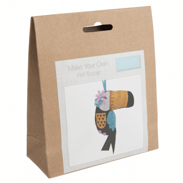 Trimits - Make Your Own Felt Decoration Kit - Toucan 1