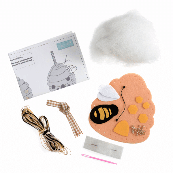 Trimits - Make Your Own Felt Decoration Kit - Beehive 2