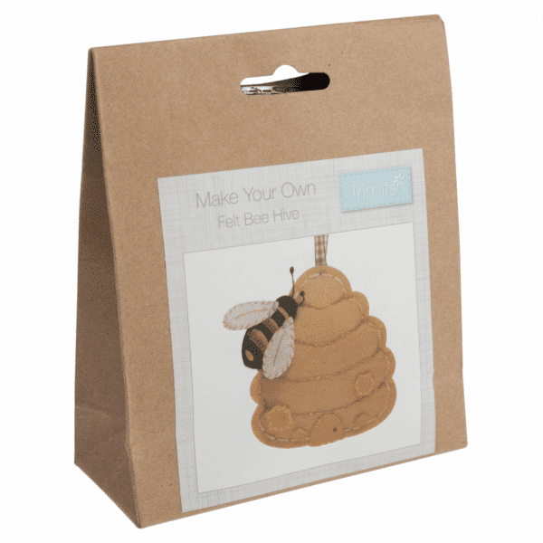 Trimits - Make Your Own Felt Decoration Kit - Beehive 1
