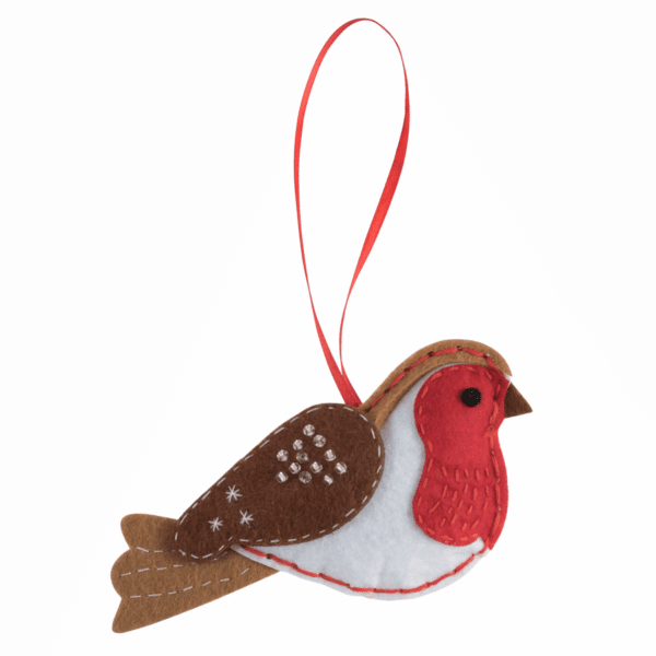Trimits - Make Your Own Felt Decoration Kit - Robin 3