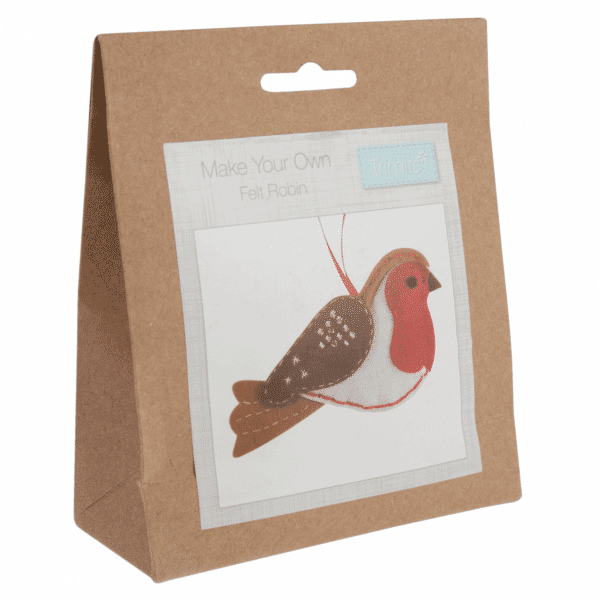 Trimits - Make Your Own Felt Decoration Kit - Robin 1