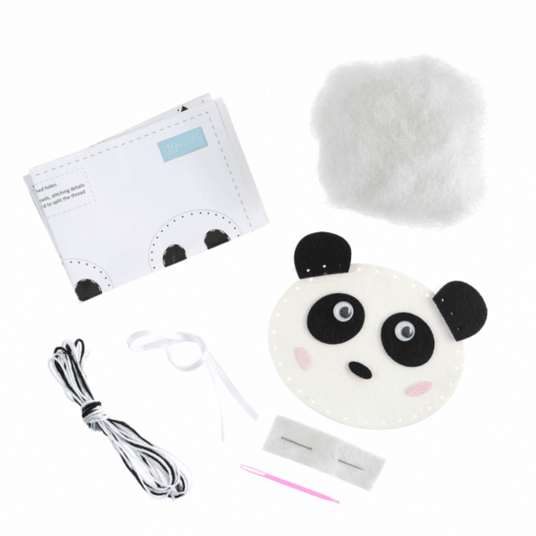 Trimits - Make Your Own Felt Decoration Kit - Panda 2