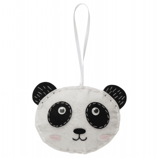 Trimits - Make Your Own Felt Decoration Kit - Panda 3