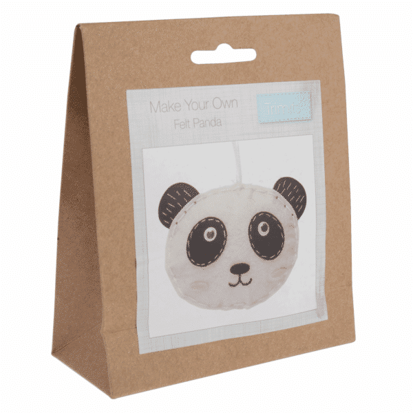 Trimits - Make Your Own Felt Decoration Kit - Panda 1