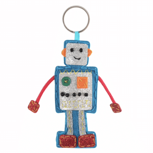Trimits - Make Your Own Felt Decoration Kit - Robot 3