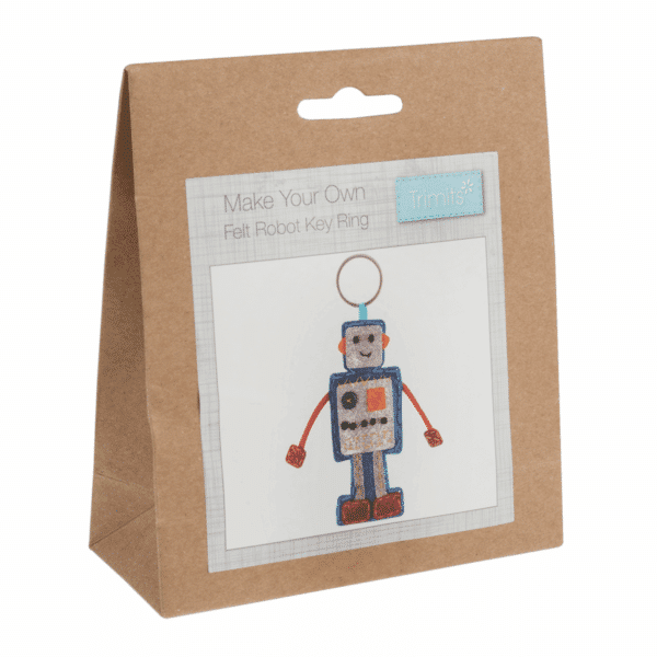 Trimits - Make Your Own Felt Decoration Kit - Robot 1