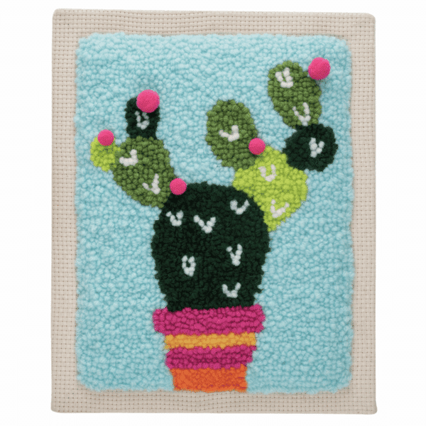 Trimits - Punch Needle Kit - Cactus 3