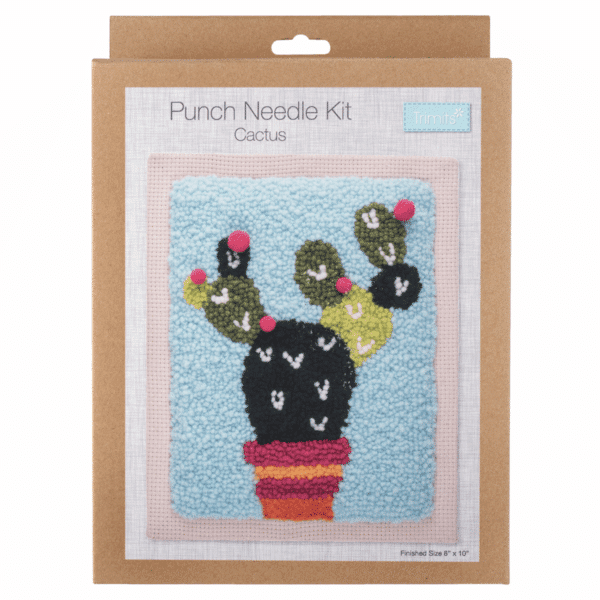 Trimits - Punch Needle Kit - Cactus 1