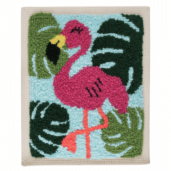 Trimits - Punch Needle Kit - Flamingo 3