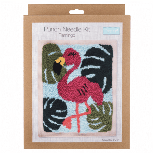 Trimits - Punch Needle Kit - Flamingo 1