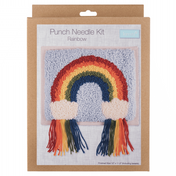Trimits - Punch Needle Kit - Rainbow 1