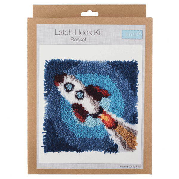 Trimits - Latch Hook Kit - Rocket 1