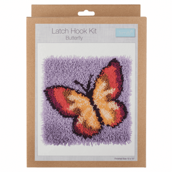 Trimits - Latch Hook Kit - Butterfly 1