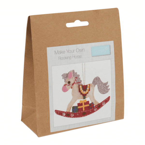 Trimits - Make Your Own Felt Decoration Kit - Rocking Horse 1