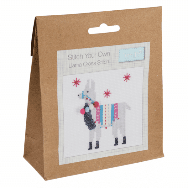 Trimits - Stitch Your Own Cross Stitch Kit - Llama 1