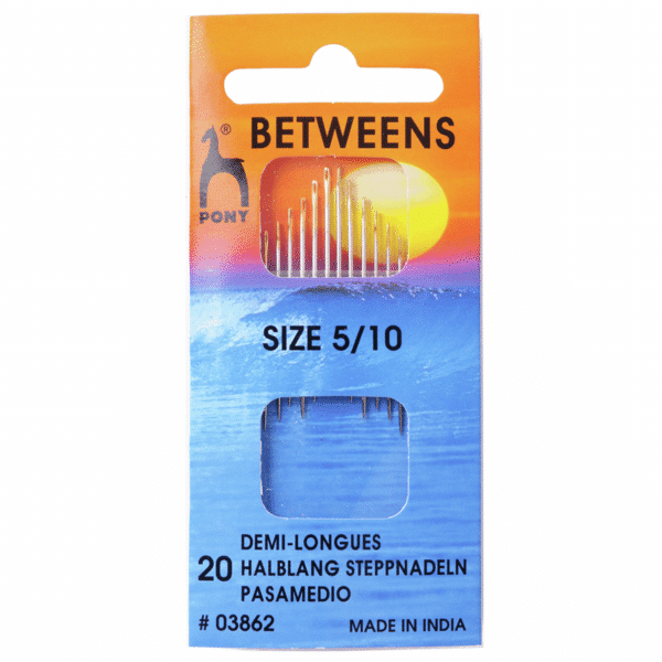 Pony - Hand Sewing Needles - Betweens - Gold Eye - Size 5/10 1
