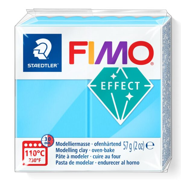 Fimo Effect Modelling Clay - Neon Blue 1