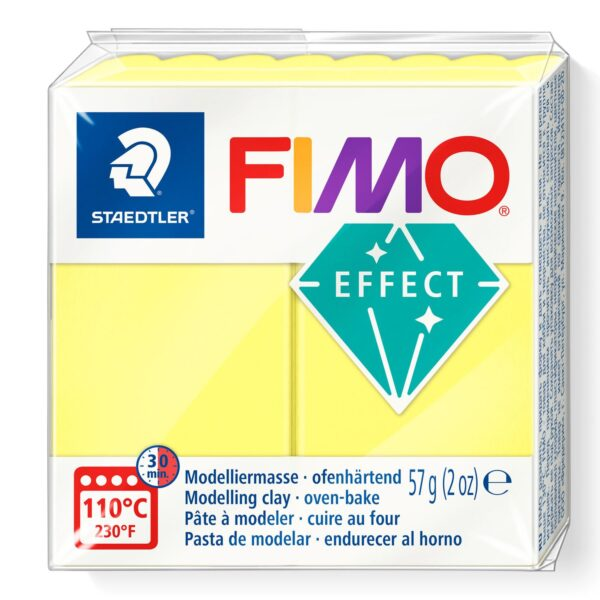 Fimo Effect Modelling Clay - Translucent White 1