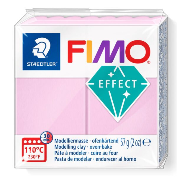 Fimo Effect Modelling Clay - Pastel Rose 1