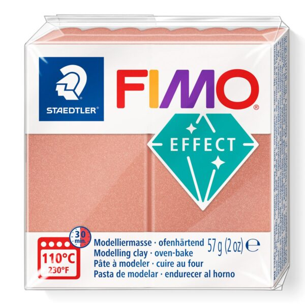Fimo Effect Modelling Clay - Pearl Rose 1