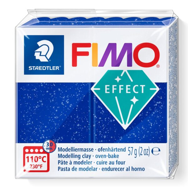 Fimo Effect Modelling Clay - Glitter Blue 1