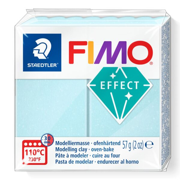 Fimo Effect Modelling Clay - Blue Ice Quartz 1