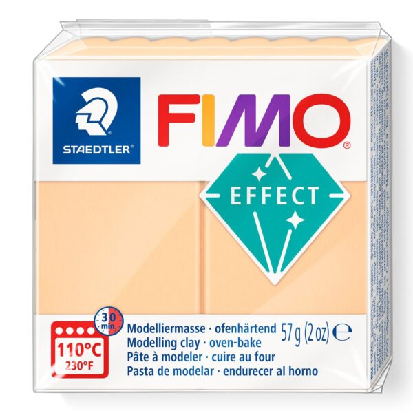 Fimo Effect Modelling Clay - Pastel Peach 1