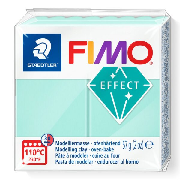 Fimo Effect Modelling Clay - Pastel Mint 1