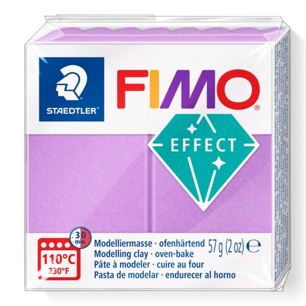 Fimo Effect Modelling Clay - Pearl Lilac 1