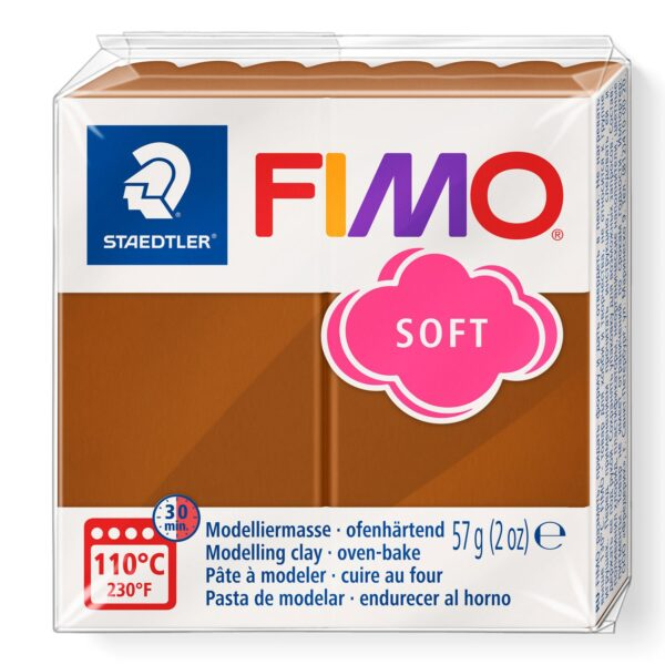 Fimo Soft Modelling Clay - Caramel 1