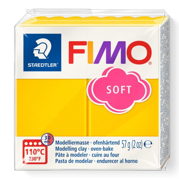 Fimo Soft Modelling Clay - Sunflower 1