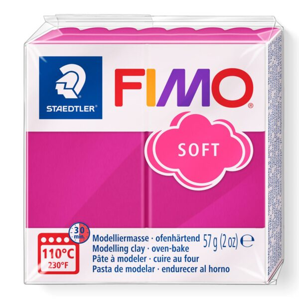 Fimo Soft Modelling Clay - Raspberry 1