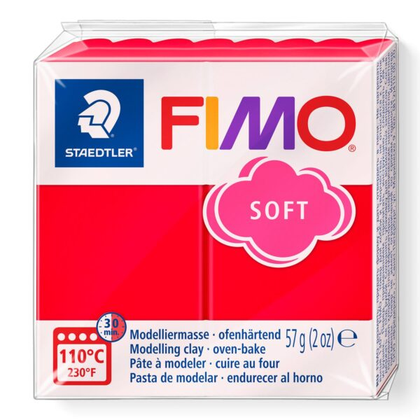 Fimo Soft Modelling Clay - Indian Red 1