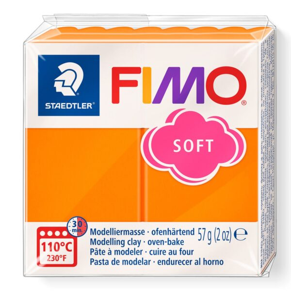 Fimo Soft Modelling Clay - Tangerine 1