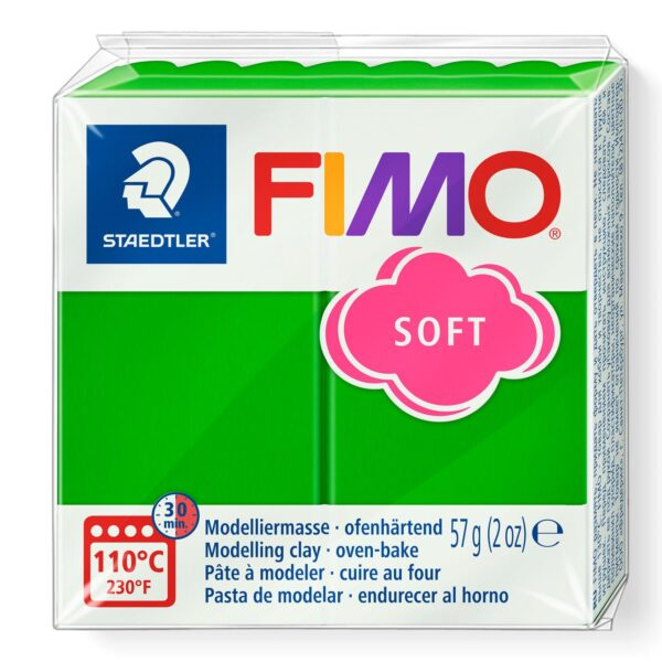 Fimo Soft Modelling Clay - Tropical Green 1